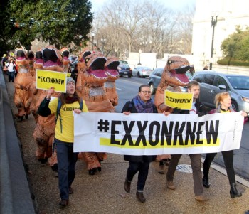 exxon knew protest