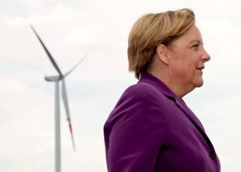 merkel wind turbine