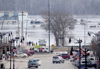 midwest flood water