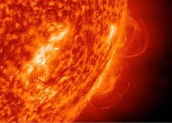 solar activity flare