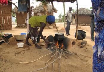 indoor cooking africa