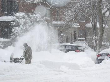 winter blizzard upper midwest
