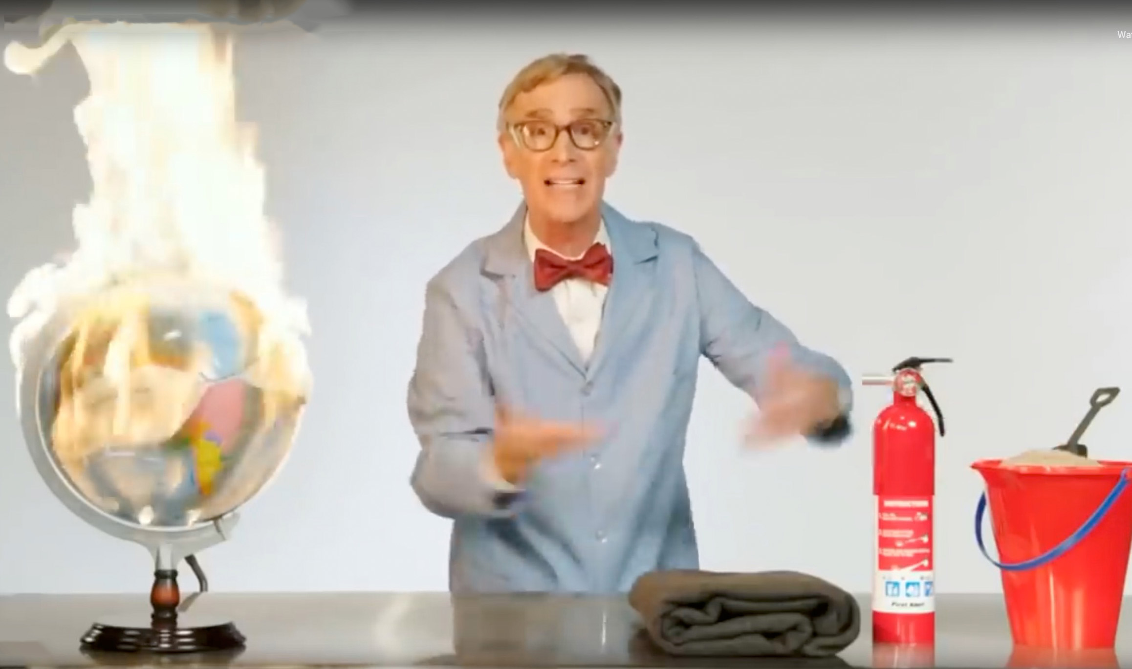 Bill Nye Goes On Profane Rant Over Climate Change