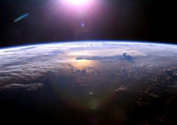 earth space sun