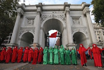 Extinction Rebellion ceremony