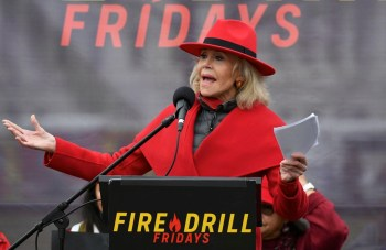 fire drill fridays dc protest