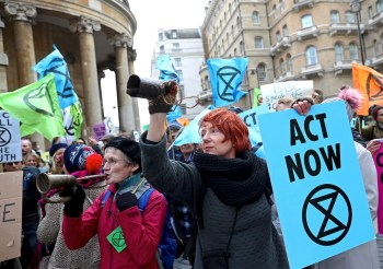 extinction rebellion protest xr