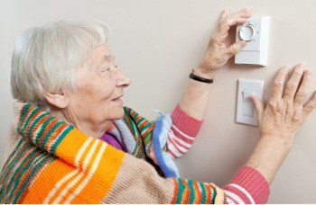 senior thermostat warm