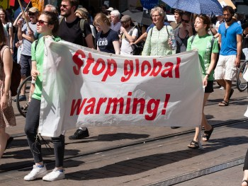 climate protest global warming