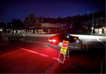 california blackout traffic lights