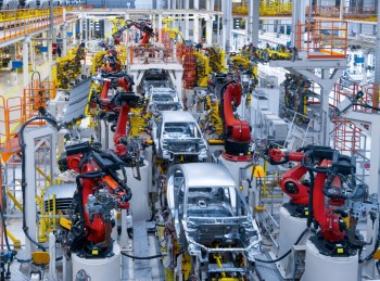 electric car manufacturing plant