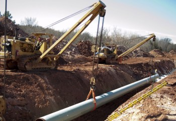 pipeline building
