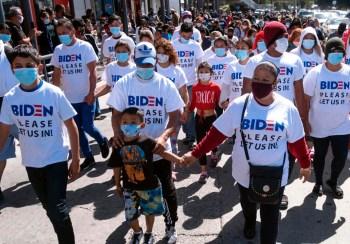 migrants biden shirts