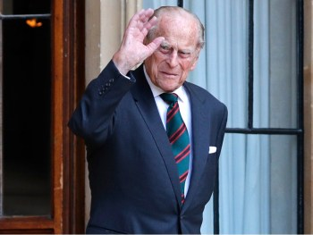 prince philip wave