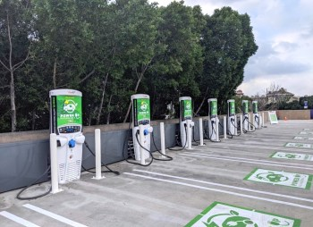 ev chargers calif