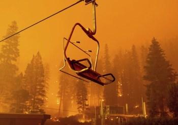 caldor wildfire