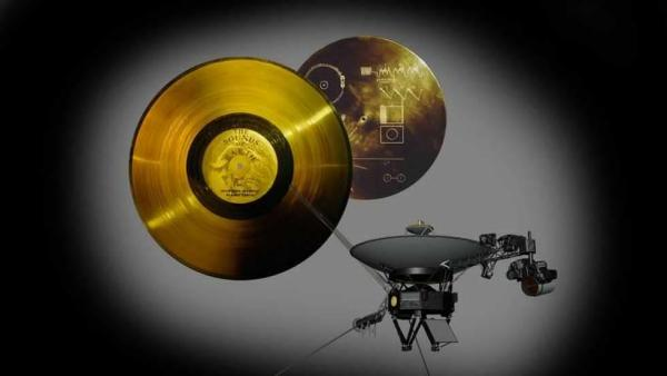The Voyager Golden Record, from NASA