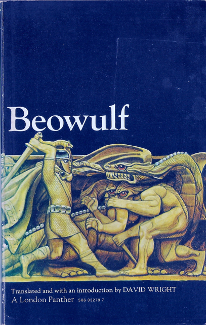 Book cover for Beowulf, a prose translation by David Wright