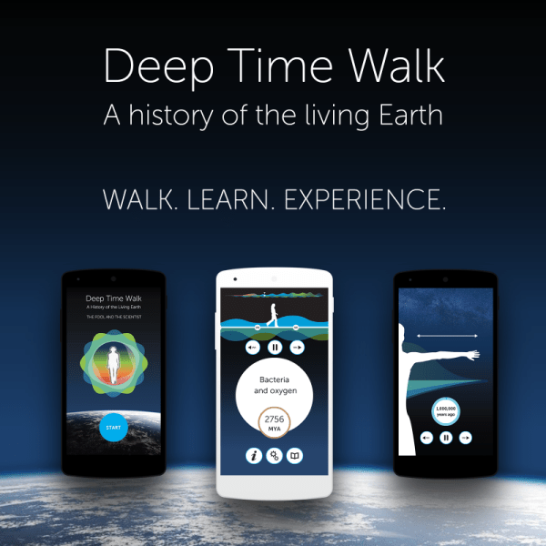 Deep Time Walk App