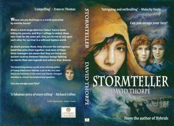 Cli-fi - Stormteller, by David Thorpe