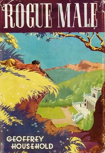 Rogue Male cover, first edition (1939)