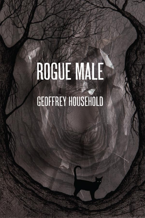 Rogue Male cover, limited edition hardback reissue. Artist: Stanley Donwood