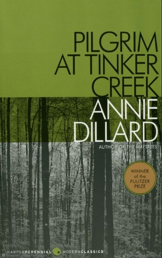 'Pilgrim at Tinker Creek' cover