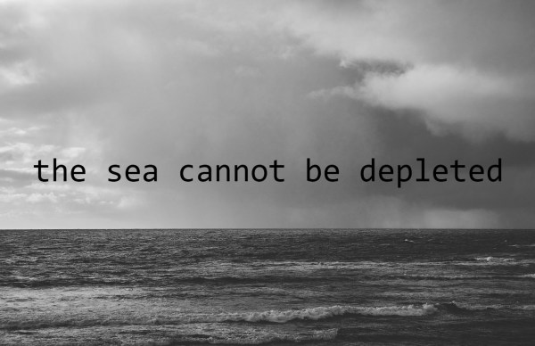 the sea cannot be depleted
