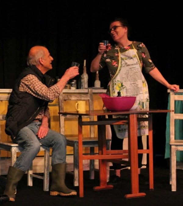 Play - showing Hazel & Robin. Photograph byThomas Cobb