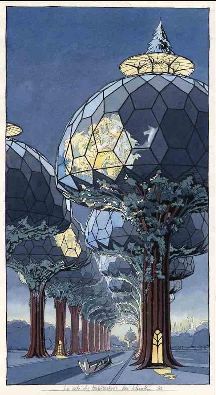Solarpunk architecture