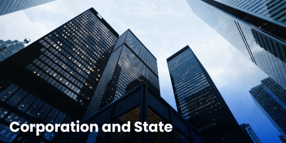 Corporation and State