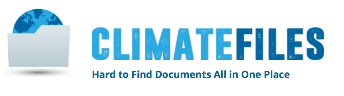 Climate Change, Climate Files