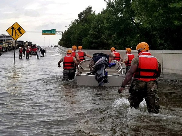 Hurricane Harvey, Climate Change