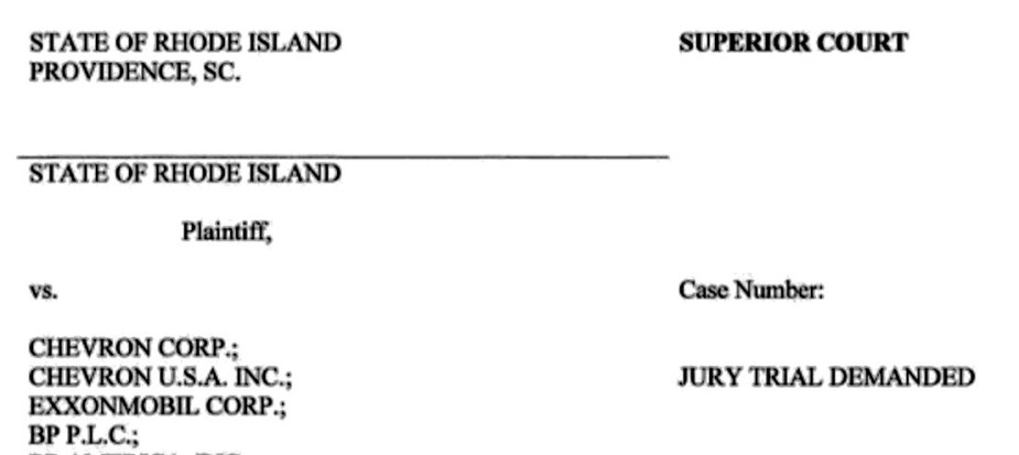 rhode island complaint