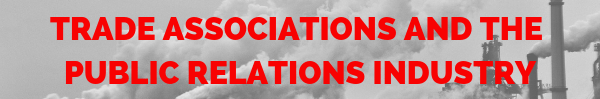 Trade associations and the public relations industry
