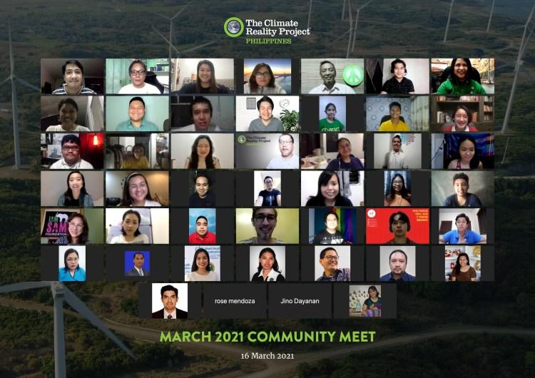March 2021 Community Meet