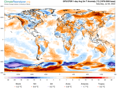 Global Meteo Overview 27 December, 2018 #Earth #weather (Raport meteo Pamant – 27 Decembrie 2018)
