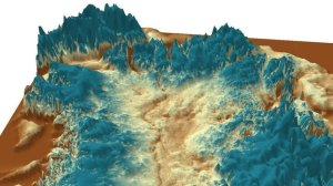 Scientists are surprised the feature has not been worn away by successive glaciations