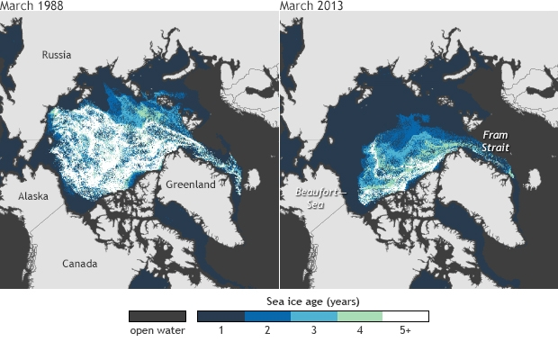 Sea Ice Age_ARC_March 1988-2013