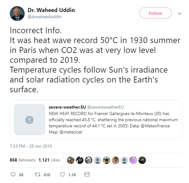 Fact Checker: Did Temperatures in France set a new Record