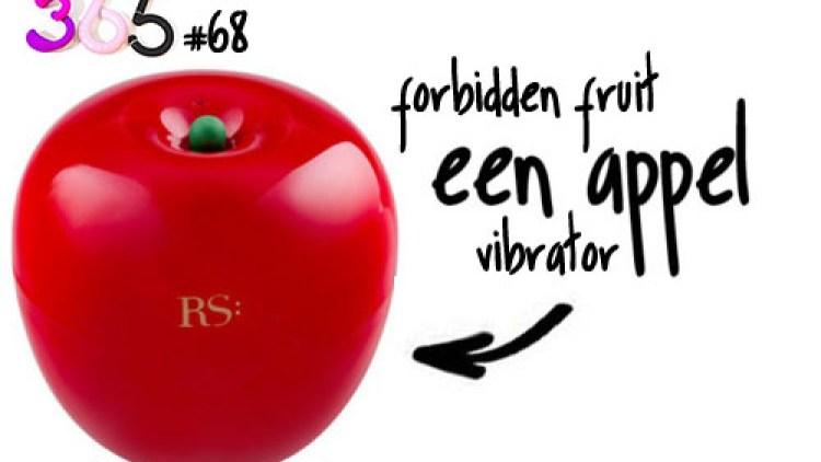 Dit is een afbeelding van de forbidden fruit van rianne s vibrator