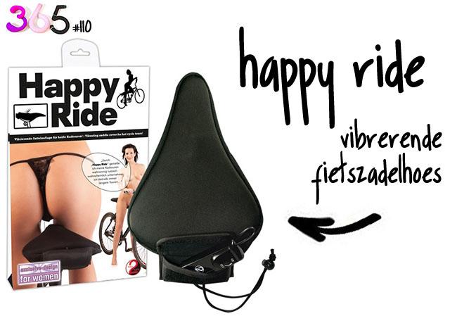 happy ride fietszadel