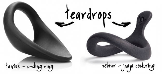 teardrop cockring