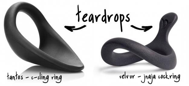 teardrop cockring