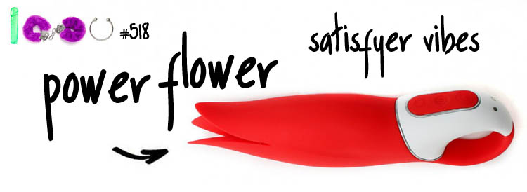 Dit is een afbeelding van satisfyer power flower vibrator test review