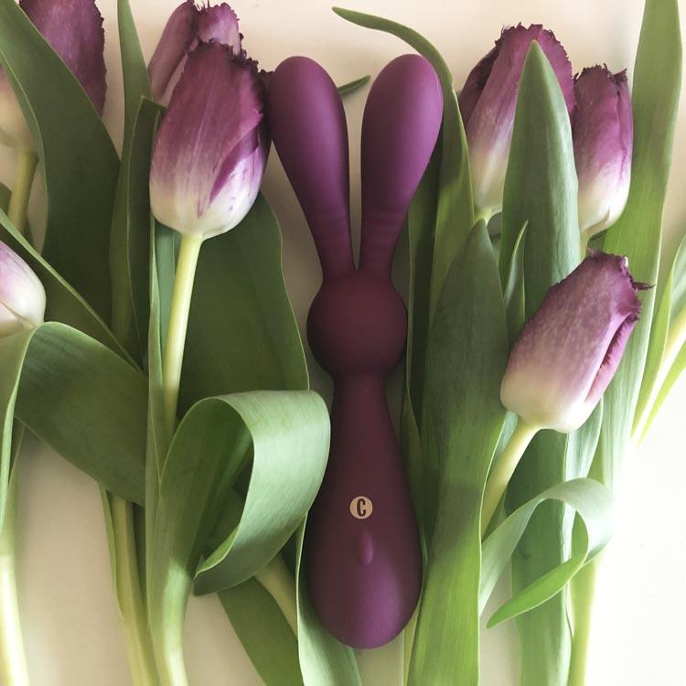 Dit is een afbeelding van cosmopolitan flirt bunny vibrator