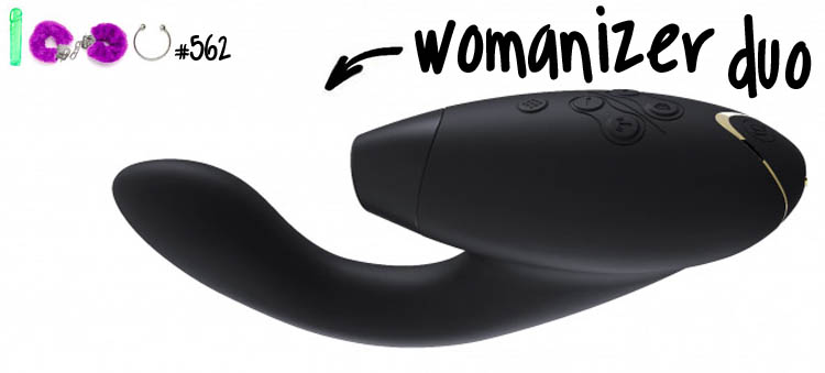 Dit is een afbeelding van womanizer duo review test vibrator