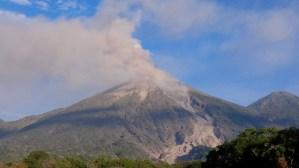 Vista 2-mar-2016 8am desde OV. Fuego - INSIVUMEH