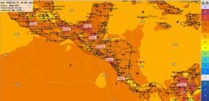 Temperaturas Máximas Dom. 27-mar-2016