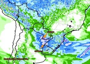 Precipitaciones últimos 7 días 31/3/16 al 6/4/2016